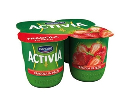 YOGURT ACTIVIA FRAGOLA