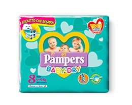 PAMPERS BABY DRY MEDI