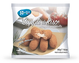 SUPPLI' DI RISO AL RAGU' GARBO SURGELATI*