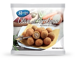 OLIVE ALL'ASCOLANA 1kg GARBO SURGELATE*