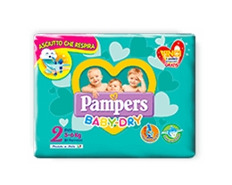 PAMPERS BABY DRY MINI